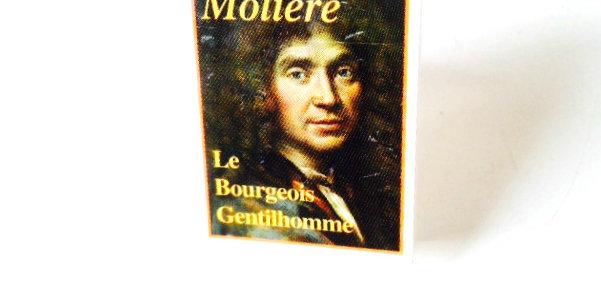 Bague MNI LIVRE Molière, anneau ajustable