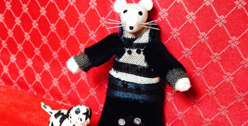 Figurine poupée souris de collection BEN RATTENDISH