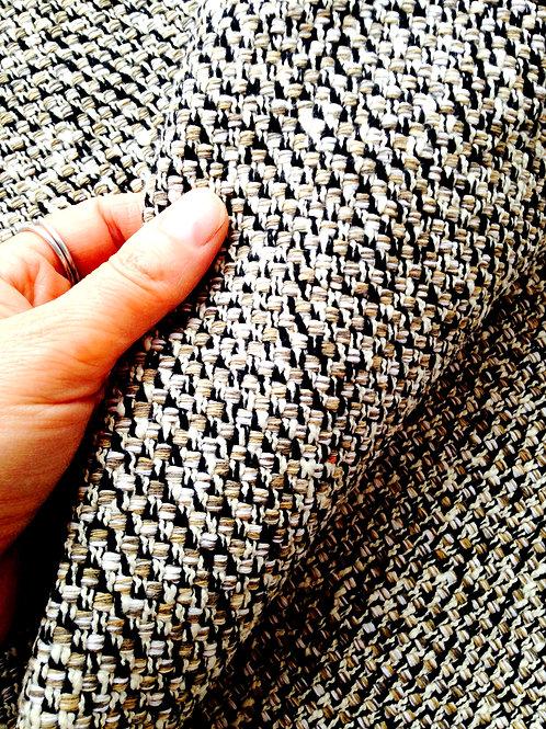 Tissu - Chutes de tweed, lot de trois petits coupons