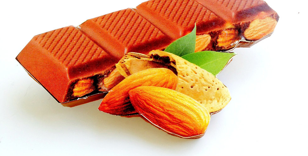 Broche AAAAARGH Barre de chocolat