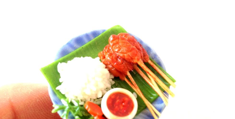 Bague LE P'TIT RESTAU VIETNAMIEN, nourriture miniature