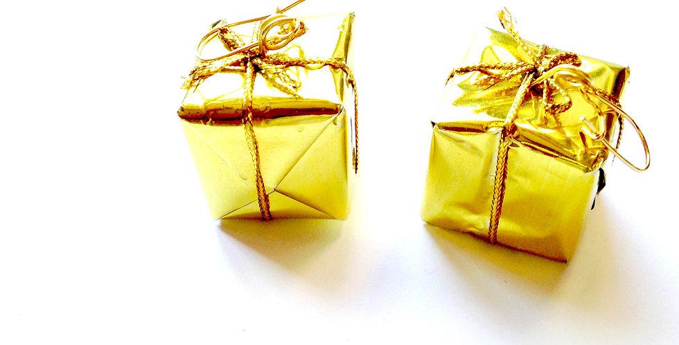 Boucles d'oreilles LES CADEAUX, miniatures