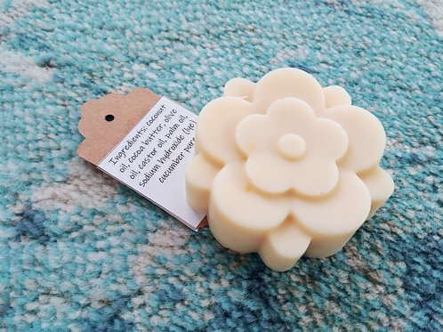 Refreshing & Soothing Cucumber Soap