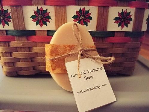 Natural Turmeric Soap