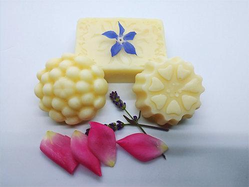 Natural Elderflower and Lavender Soap