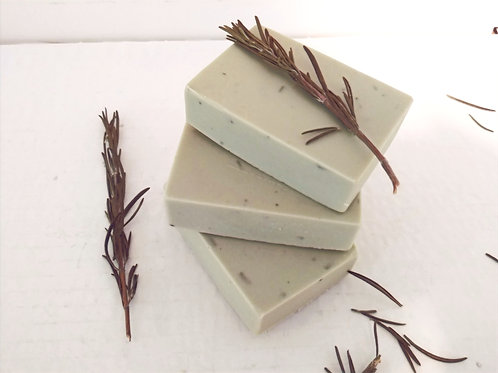 Natural Rosemary Soap with Cambrian Clay