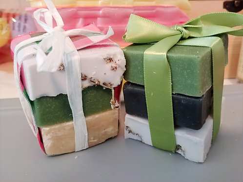 3 Piece Handmade Soap Mini Bundle