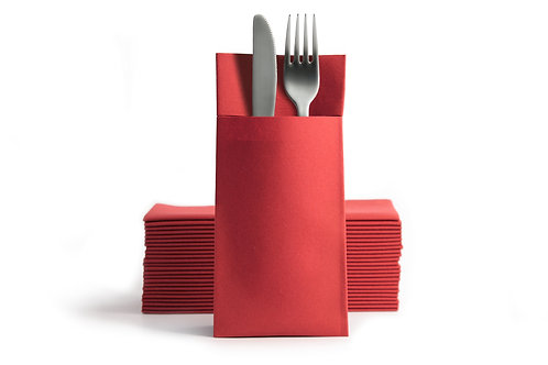 Airlaid Pocket Napkins Red London