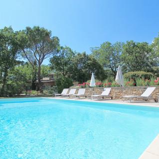 Mas de Veroncle swimming pool