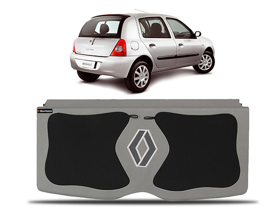 Tampão Clio hatch 2000 até 2012 2 e 4 portas - Personalizado