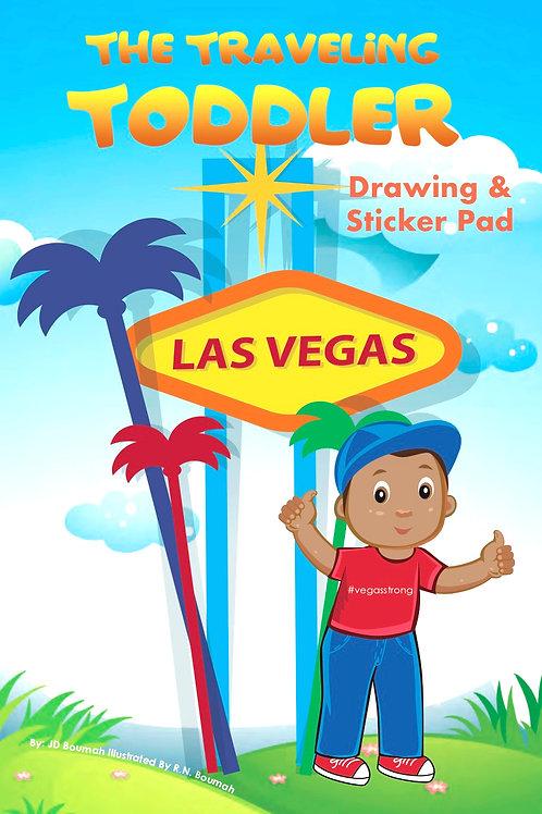 The Traveling Toddler: Las Vegas Drawing & Sticker Pad