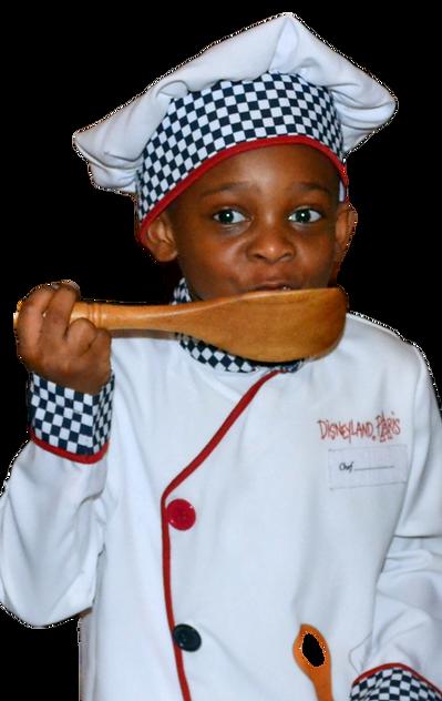 Chef Justyn Apple Reindeer
