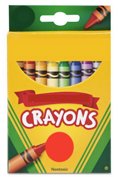 The Traveling Toddler: Crayons