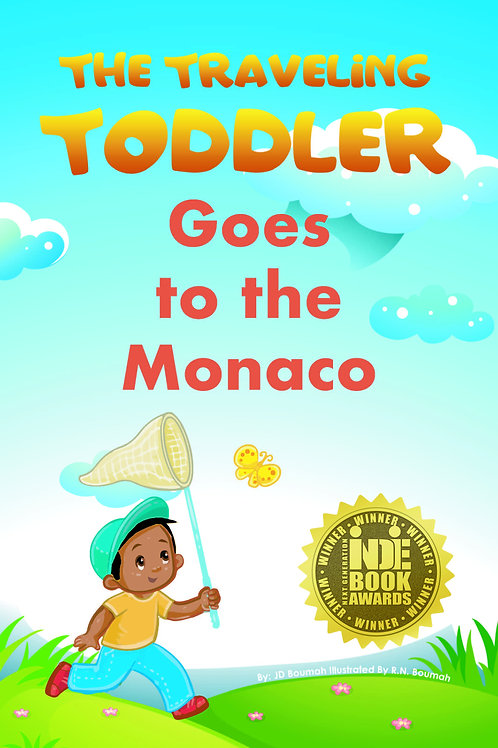The Traveling Toddler: Goes to Monaco