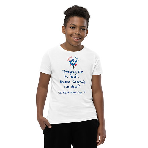 """""""Everyone Can Be Great"""" T-Shirt Blue"""