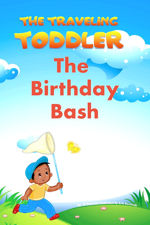 The Traveling Toddler: The Birthday Bash