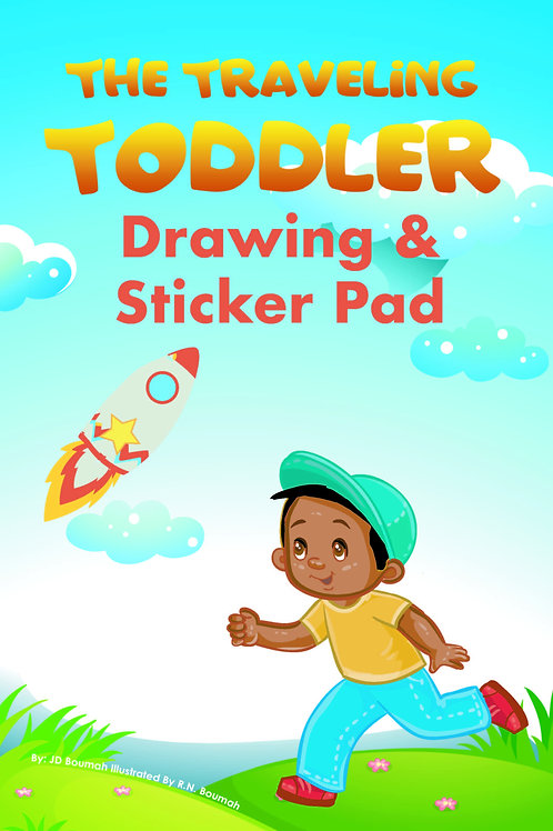The Traveling Toddler: Drawing & Sticker Pad