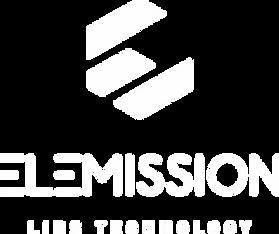 ELEMISSION Logo_Vertical_Blanc_Transpare