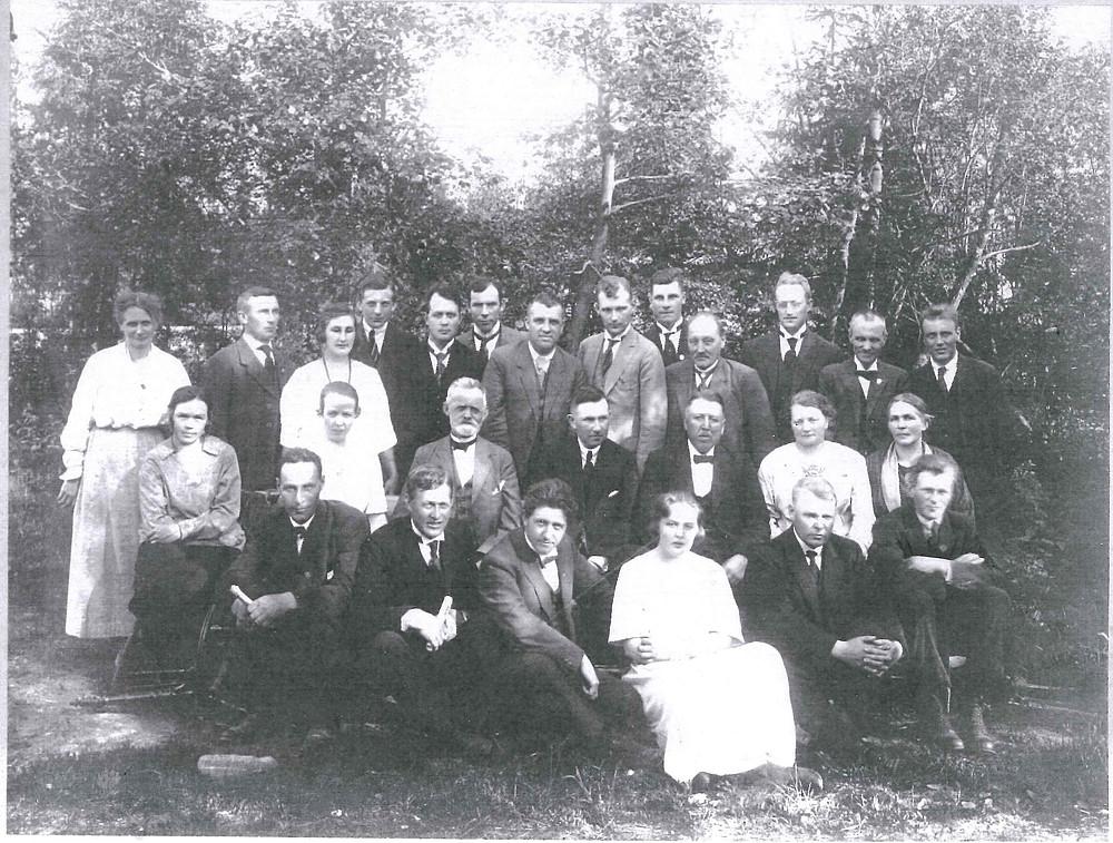 Fra årsmøtet i 1924