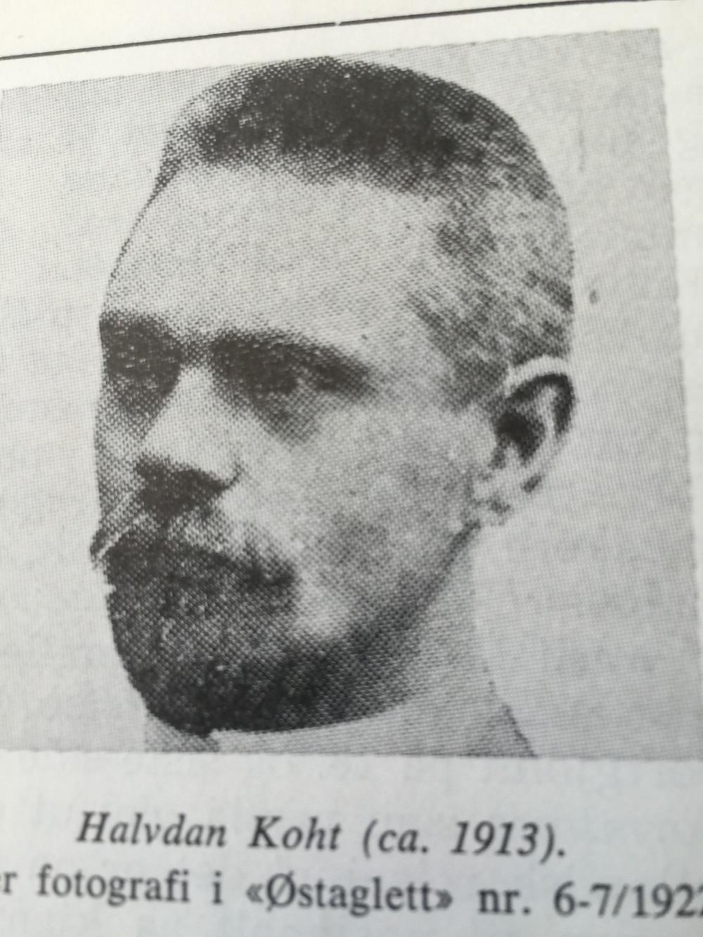 Halvdan Koht (ca. 1913)