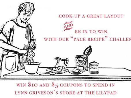 Lynn Grieveson Design's August Challenge