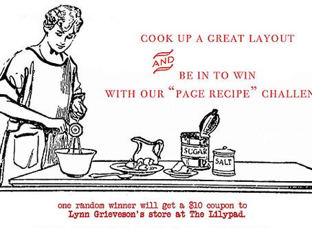 Lynn Grieveson Design's : Recipe challenge