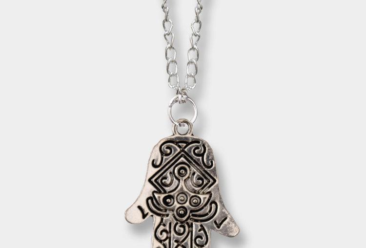Hamza Hand Necklace