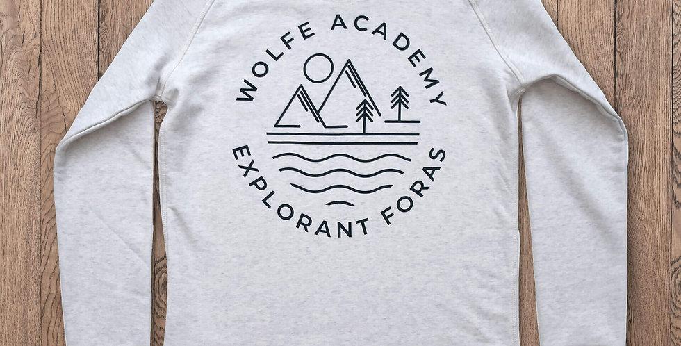 Montserrat Women's Sweatshirt (Back Print)