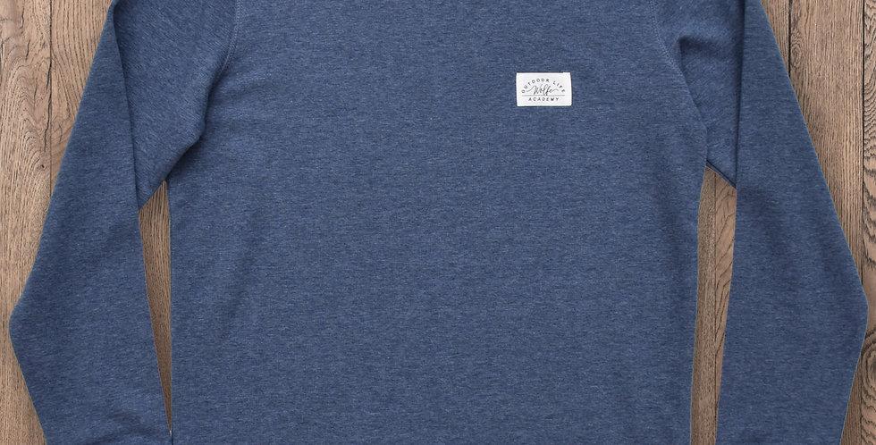 Frontier Sweatshirt - Blue Marl