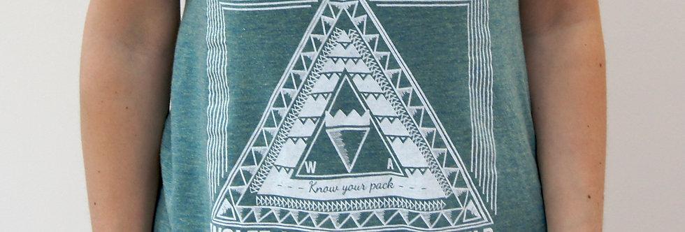 Green Aztecs Vest
