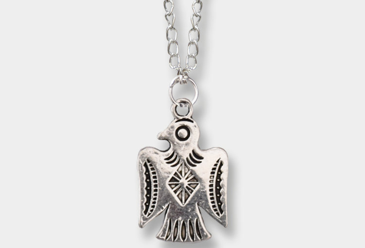 Aztec Bird Necklace
