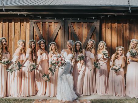 Shatawna & Matt's Beautiful Barn Wedding at Bridle Oaks Barn
