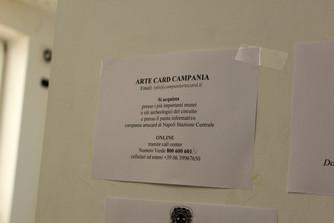 La mancanza di Campania Artecard a Salerno.