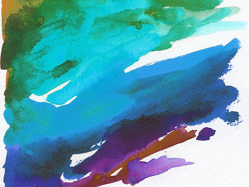 Online: Watercolor Painting Private Lesson