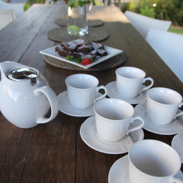 Morning Tea with Creative Escapes