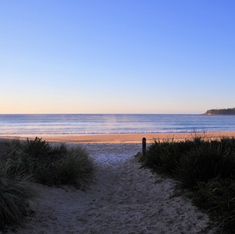 Early Morning Narrawallee Beach.JPG