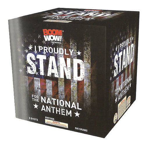 I Proudly Stand For The National Anthem