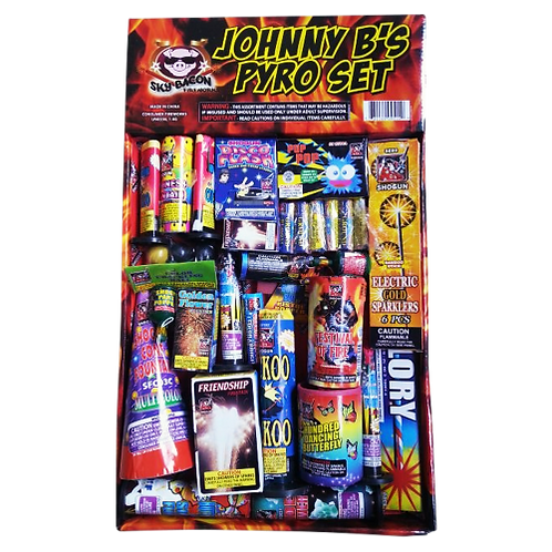Johnny B's Pyro Set