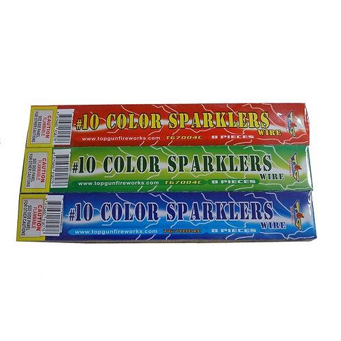 "10"" Sparklers"