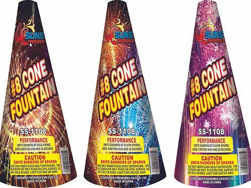 """12"""" Cone Fountain"""