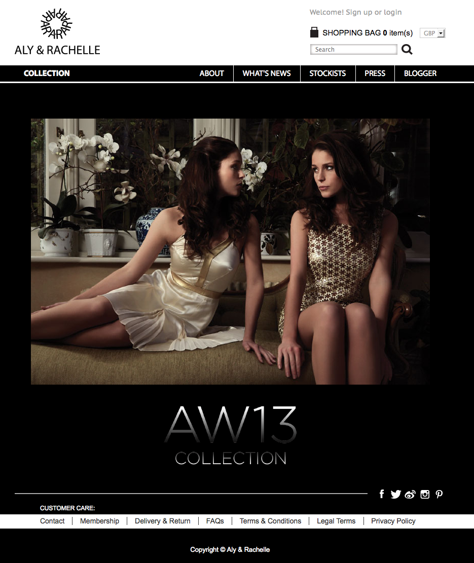 Aly & Rachelle website