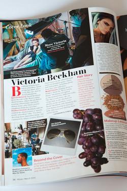 Allure Magazine Victoria Beckham