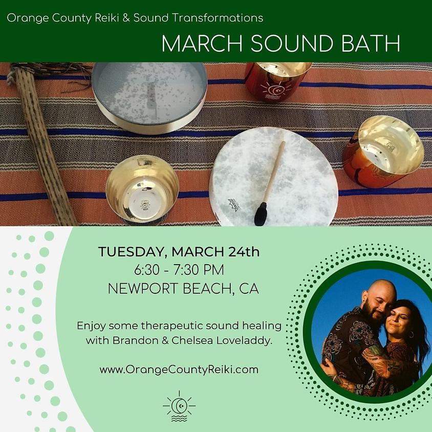 March Sound Bath