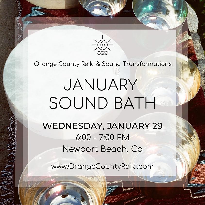 January Sound Bath