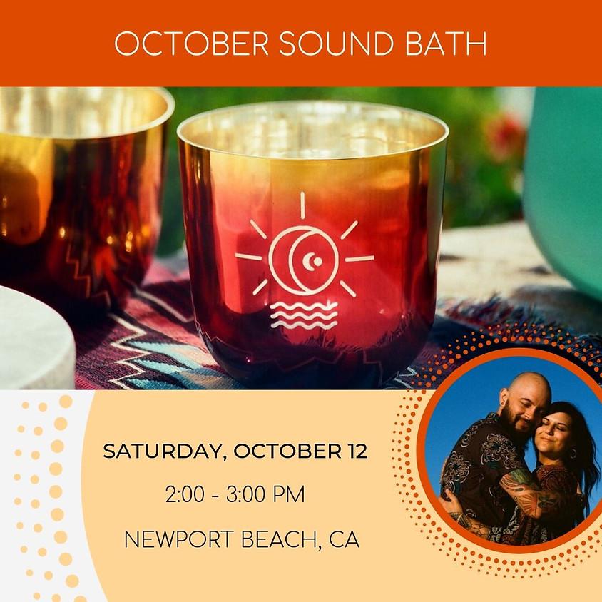 October Sound Bath