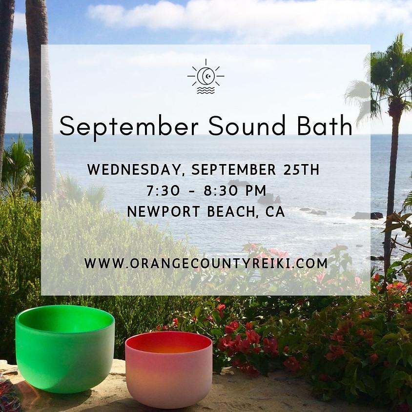 September Sound Bath