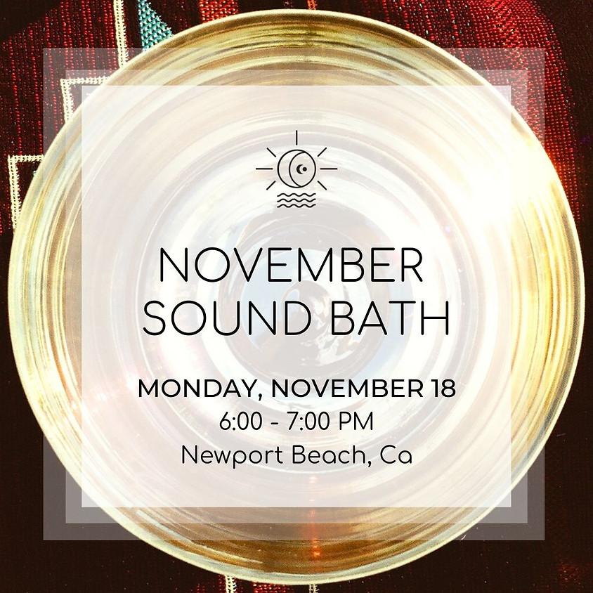 November Sound Bath