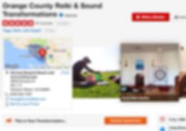 Orang County Reiki & Sound Transformations Testimonials on Yelp