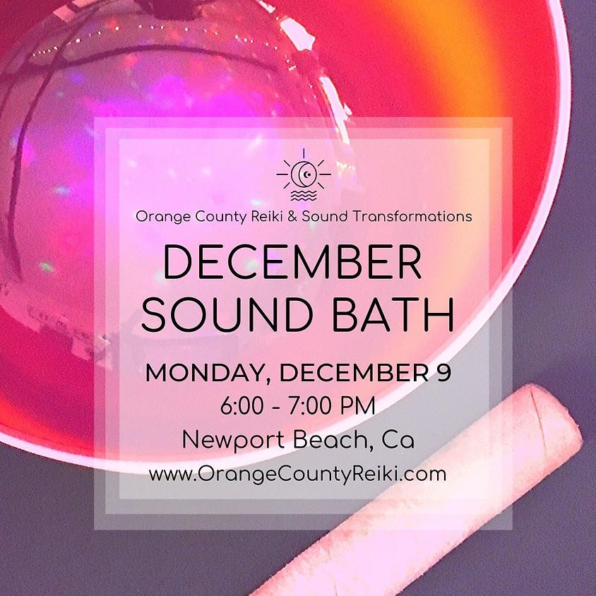 December Sound Bath