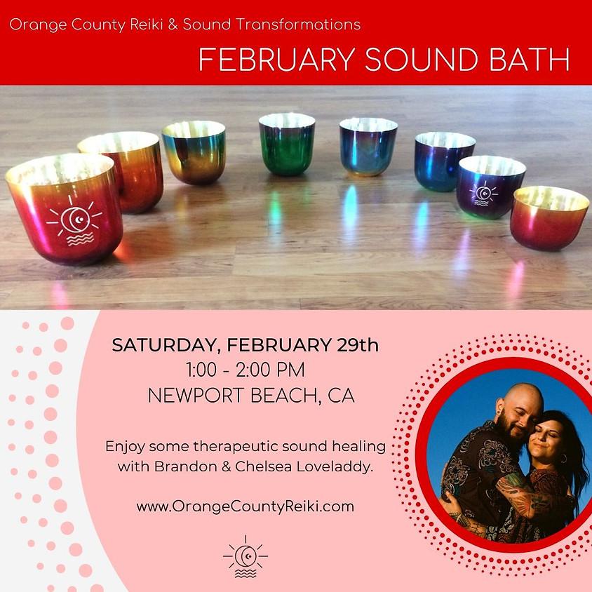 February Sound Bath